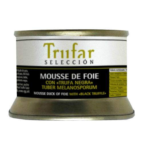 Mousse de foie con trufa negra Trufar